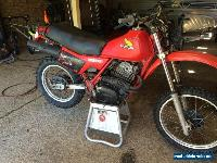 Honda XL500R for Sale