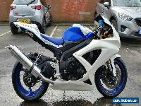 2008 SUZUKI GSXR 600 K8 BLUE for Sale
