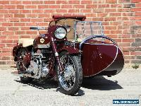 1956 Norton Square 4 w/Garrard Sidecar for Sale