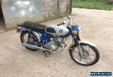 Honda SS125 Low Mileage 1970 Good Condition for Sale