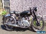 VINCENT SERIES C. COMET 500cc YEAR 1951 BLACK for Sale