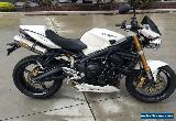 TRIUMPH STREET TRIPLE 675 11/2007 MODEL 30096KMS EXTRAS - PROJECT MAKE AN OFFER for Sale