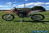 KTM 450 SXF AS NEW WONT FIND BETTER GRAB A CHEAP BARGAIN NO RESERVE DAKAR MOTOR for Sale