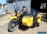 URAL SIDECAR 2012 BONDI for Sale