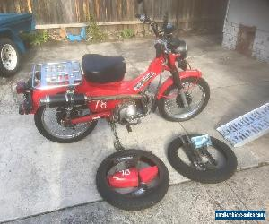 2010 HONDA CT110 POSTIE BIKE  for Sale