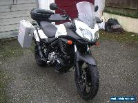 2012 SUZUKI DL 650 AL2 WHITE for Sale