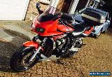 Yamaha Fazer FZS 600, red, excellent condition, full year MOT for Sale