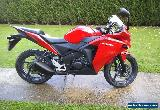2014 Honda CBR125 Red very low miles for Sale
