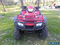 HONDA TRX 500 2009.4X4 on command for Sale