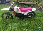 Yamaha PW80 Pinky limited edition for Sale