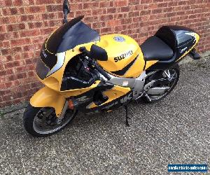 A 2000 Suzuki GSXR 600 SRAD Sports Commuter Motorcycle - Long MOT for Sale