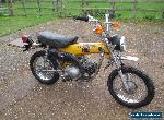 HONDA  ST90 ST 90 TRAIL SPORT 90 1974 UNREGISTERED CLASSIC  RESTORATION PROJECT  for Sale