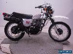 1981 Yamaha XT500H Enduro Unregistered US Import Barn Find Stunning Classic  for Sale