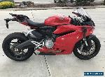 DUCATI 959 PANIGALE 04/2016 MODEL 4562KMS PROJECT MAKE AN OFFER   for Sale