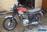 1964 Triumph T100SS. V5C. matchin Numbers. Rare + tidy Machine. Classic VGC for Sale