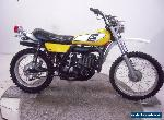 1975 Yamaha DT400B Unregistered US Import Barn Find Classic Restoration Project for Sale