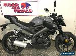 New YAMAHA MT 125 learner legal Gloss Grey for Sale