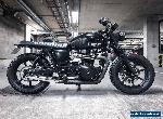 2011 Triumph Bonneville Custom Cafe Racer Scrambler Brat for Sale