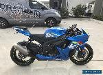 SUZUKI GSXR 600 GSXR600 01/2015 MDL 12431KMS  PROJECT TRACK RACE MAKE AN OFFER   for Sale