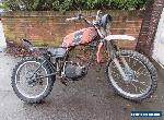 1978 YAMAHA DT175 mx DT 175E ENDURO SPARES OR REPAIR CLASSIC US IMPORT BARN FIND for Sale