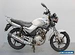 2010 YAMAHA YBR 125 DAMAGED SPARES OR REPAIR ***NO RESERVE*** (13672) for Sale