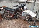 yamaha xt550 barn find project spares or repair road registered for Sale